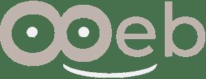 Le logo de Ooeb clair et en longueur